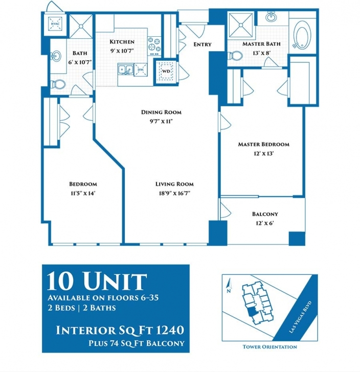 Best Sky Las Vegas - Char Luxury Sky Las Vegas Floor Plans Image