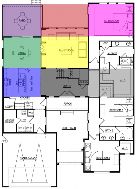 Best The Feng Shui Bagua Overlays Onto The Floor Plan Of A Home With The Bagua Floor Plan Image