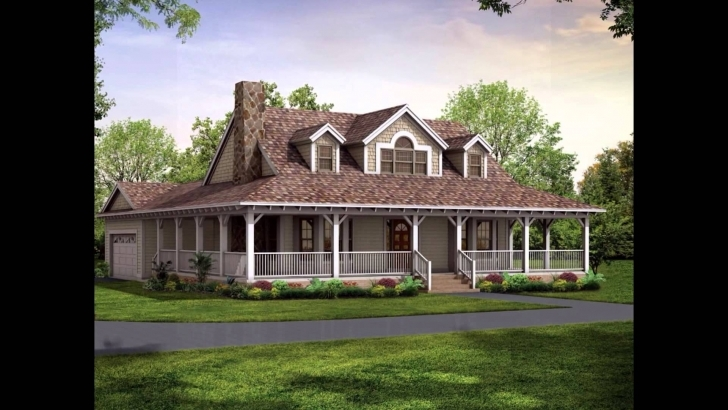 Best Wrap Around Porch House Plans - Youtube Wrap Around Porch House Plans Picture