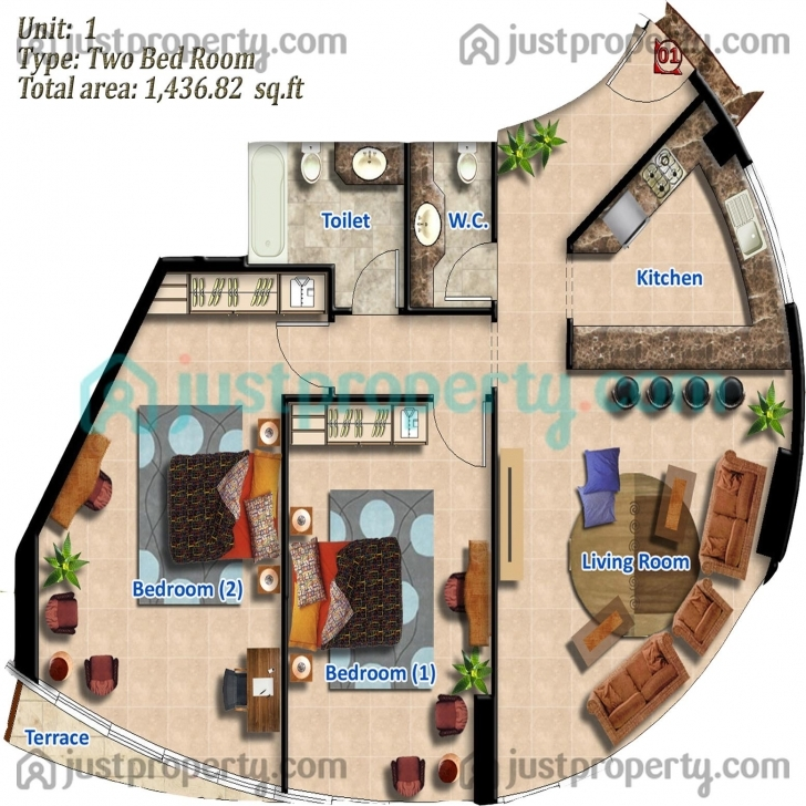 Best Zenith Tower A2 Floor Plans | Justproperty Zenith Floor Plan Photo