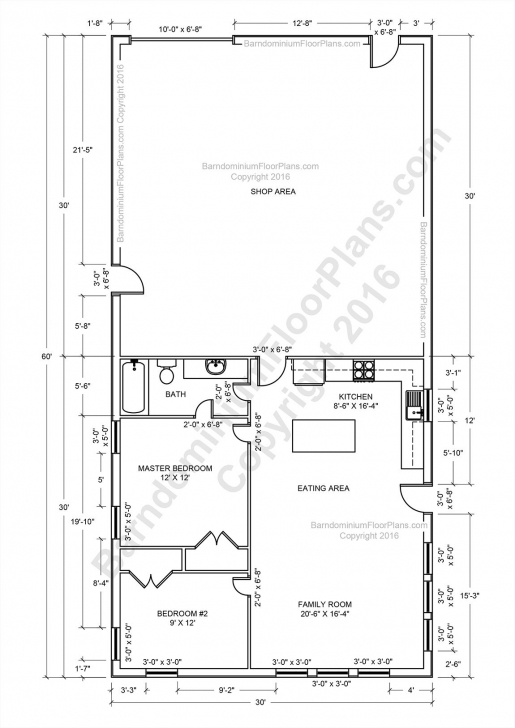 Brilliant Barndominium Floor Plans, Pole Barn House Plans And Metal Barn Homes Pole Barn House Plans Photo