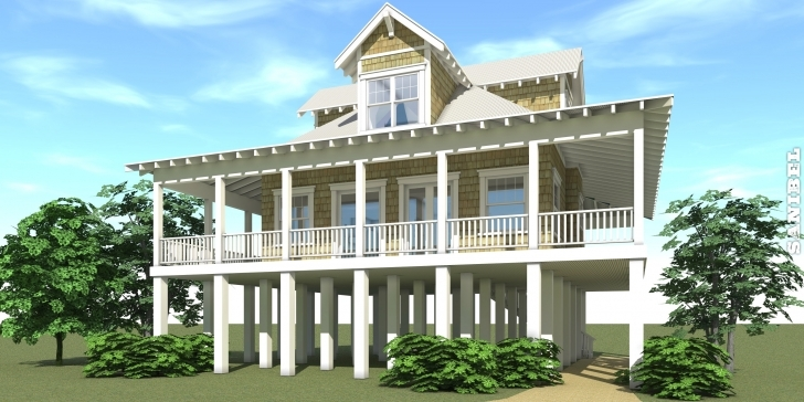Brilliant Coastal House Plans On Pilings Inspirational Southern Living Coastal Coastal House Plans Pic