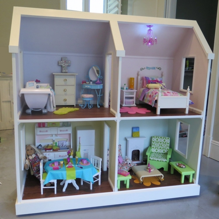 Brilliant Doll House Plans For American Girl Or 18 Inch By Addielillian, $9.95 18 Inch Doll House Plans Picture