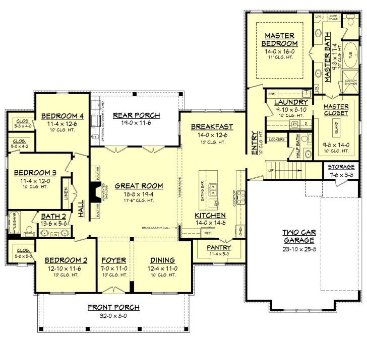 Brilliant Erin House Plan | Floor Plans | Pinterest | Farm House, Farming And T Shaped Farmhouse Floor Plans Pic