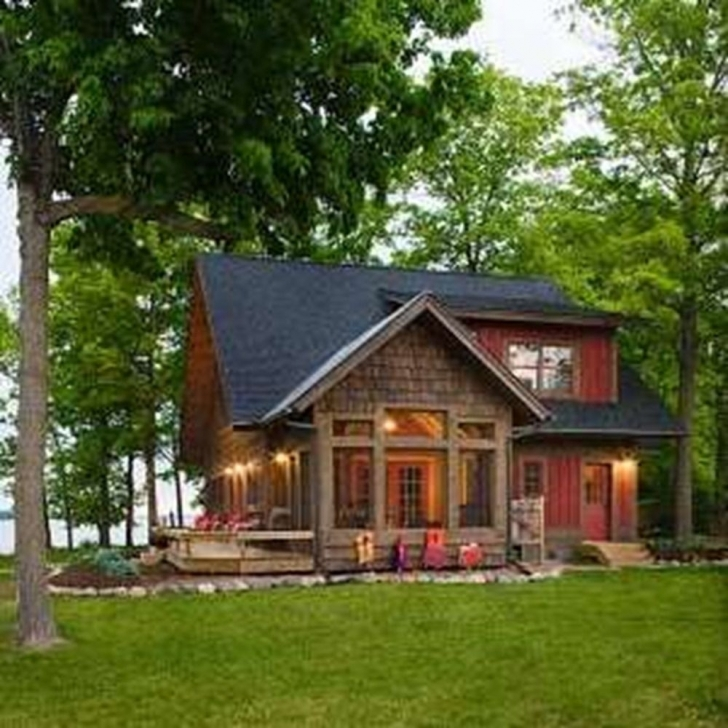 Brilliant Fascinating Small Lake House Plans With Screened Porch Projects Small Lake House Plans Picture