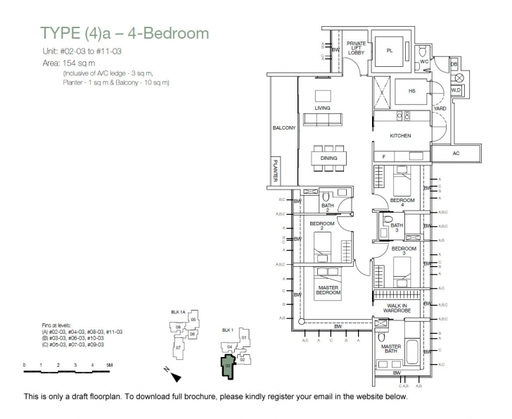 Brilliant One Balmoral – Official New Launch | Hotline: (65) 6639 2567 One Balmoral Floor Plan Picture