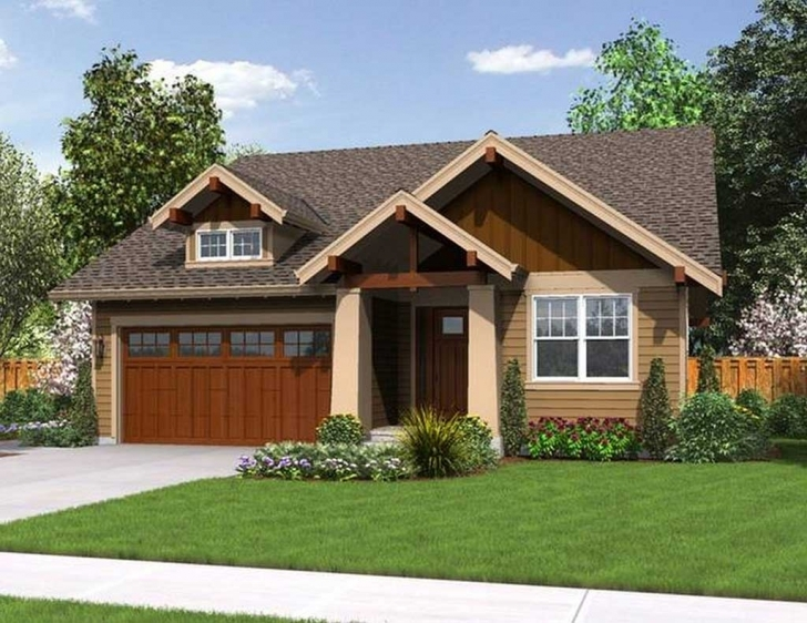 Brilliant Simple And Small Craftsman House Plans Exterior - Homescorner Small Craftsman House Plans Picture