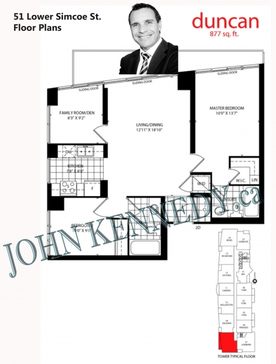 Classy 51 Lower Simcoe St, Toronto – Infinity Condos – Condos For Sale And 51 Lower Simcoe Floor Plans Pic