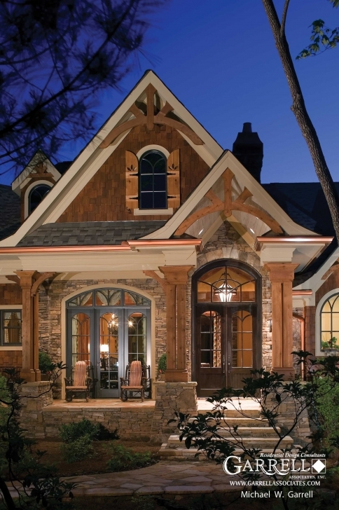 Classy Cottage Bungalow Style Homes |  House Plans Lake House Plans Lakefront House Plans Photo