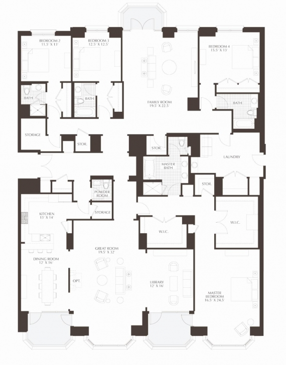 Classy Great Room Floor Plans Fresh Luxury Condo Floor Plans Awesome How To Luxury Condo Floor Plans Pic