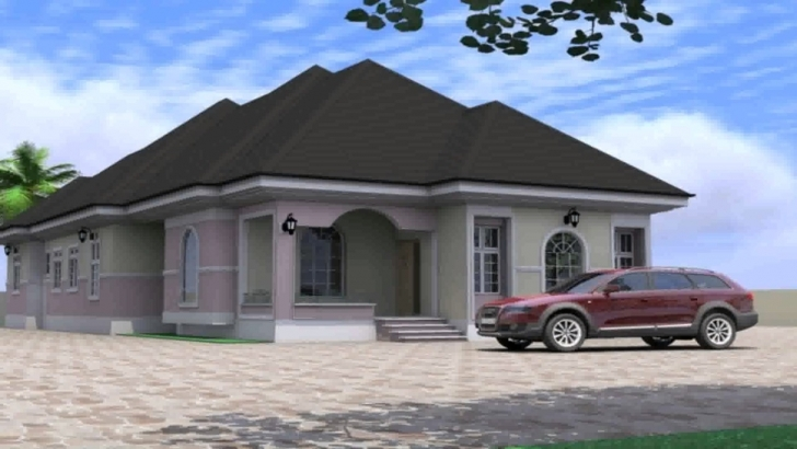 Classy House Plan Design In Nigeria - Youtube Nigerian House Plans Pic