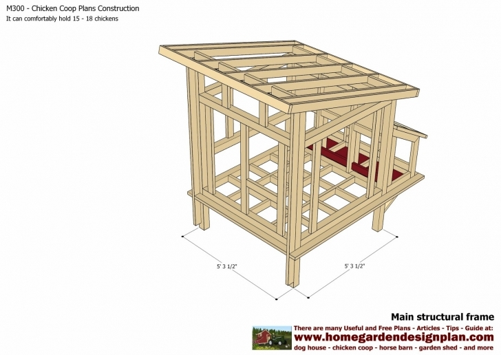 Classy Simple Chicken Coop Plans Designs 14 Design How Build A Excellent Chicken House Plans Picture