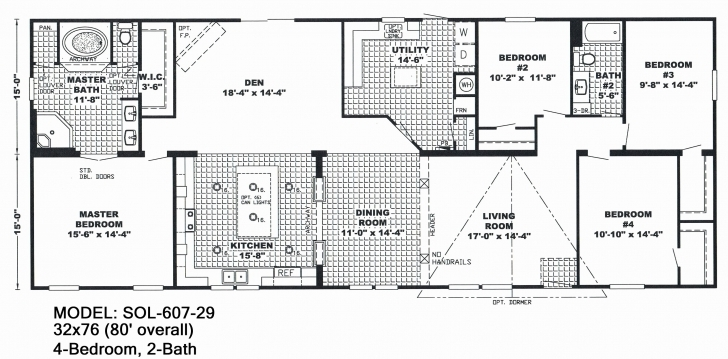 Classy Single Wide Mobile Home Floor Plans And Pictures, 2000 Single Wide 3 Single Wide Mobile Home Floor Plans And Pictures Picture