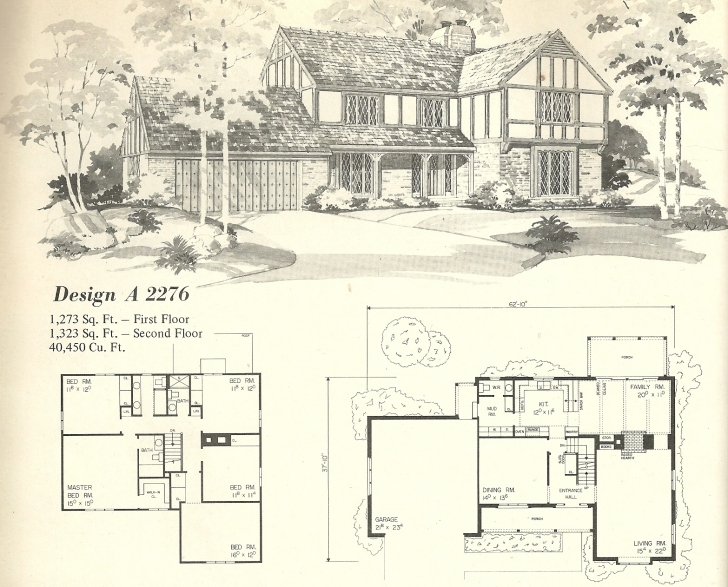 Classy Vintage House Plans 2276 | Tudor House Plans Photo