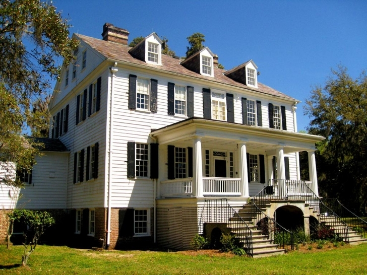 Classy Wedge Plantation - Mcclellanville, Charleston And Georgetown The Plantation House Photo