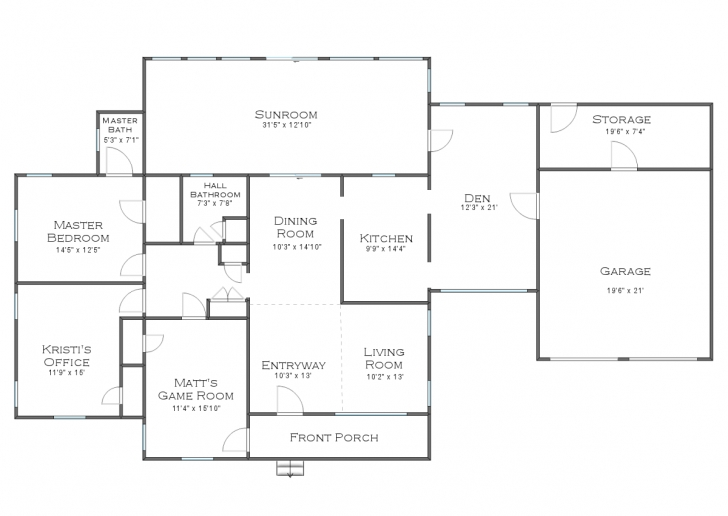 Cool Current And Future House Floor Plans (But I Could Use Your Input!!) Floor Plans For Houses Pic