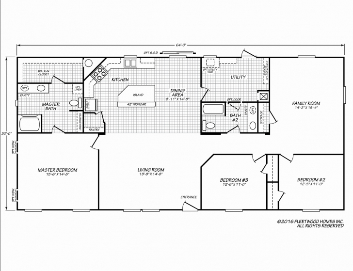 Cool Fleetwood Mobile Home Floor Plans Fleetwood Floor Plans Attractive Fleetwood Floor Plans Photo