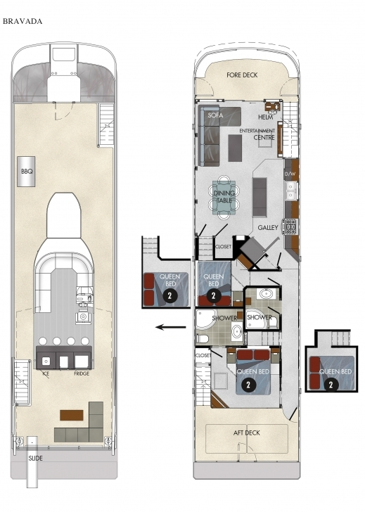 Cool Houseboat Floor Plans Awesome Houseboat Floor Plans Houseboat Plans Houseboat Floor Plans Pic