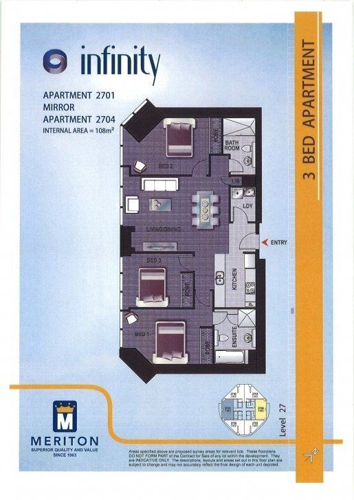 Cool Infinity Tower Floorplan - Brisbane, Australia Infinity Floor Plans Pic