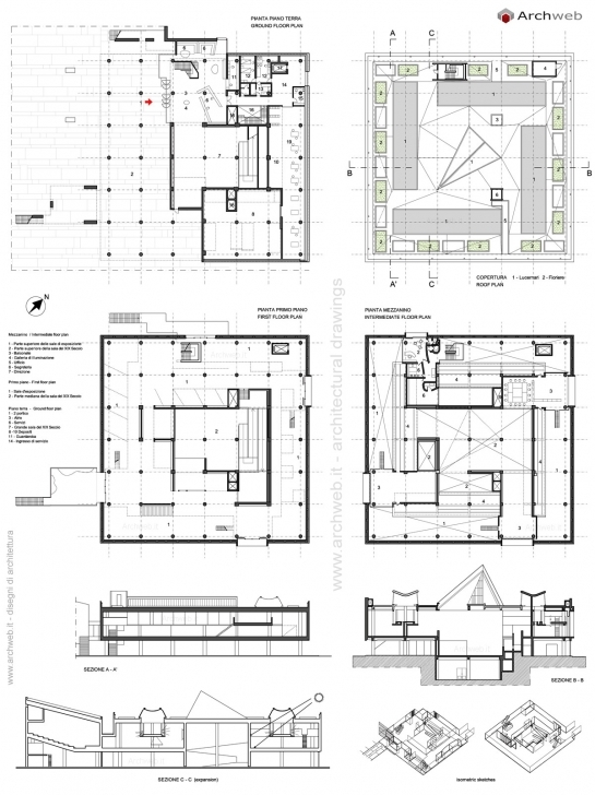 Cool National Museum Of Western Art Tokyo Drawings Plans Museum Floor Plan Dwg Image