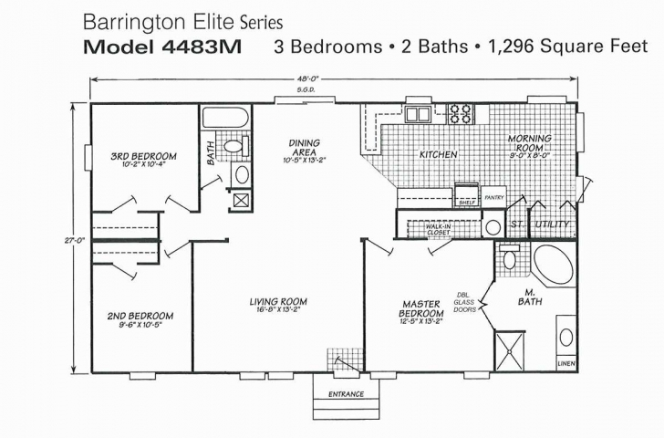 Exquisite 20 Fresh Champion Mobile Home Floor Plans | Pes-Gold Mobile Home Floor Plans Image