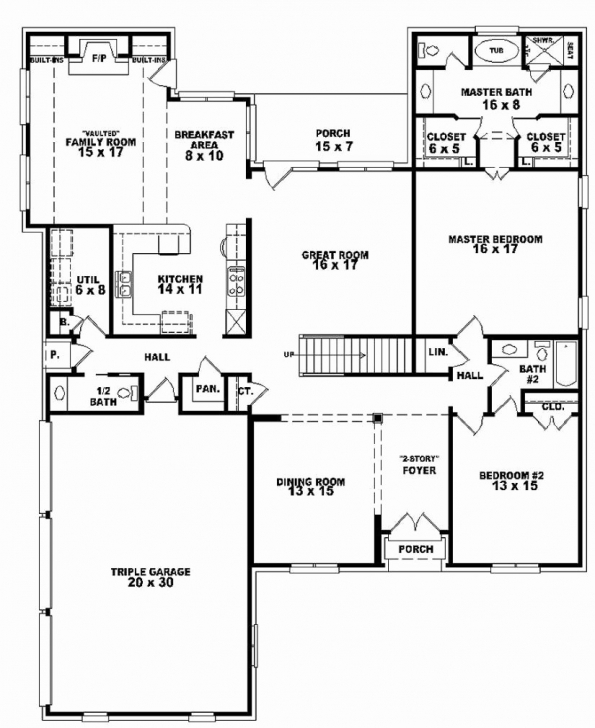 Exquisite 50 Inspirational Image One And Half Story House Plan Home One And A Half Story House Plans Picture