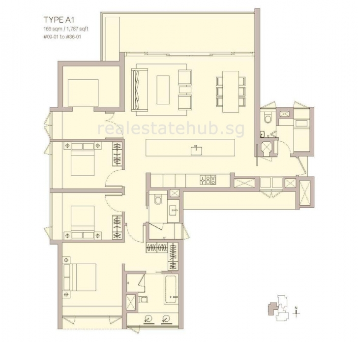 Exquisite Ardmore Three | Freehold, Brochure, Floorplan, Show Flat Ardmore 3 Floor Plan Picture