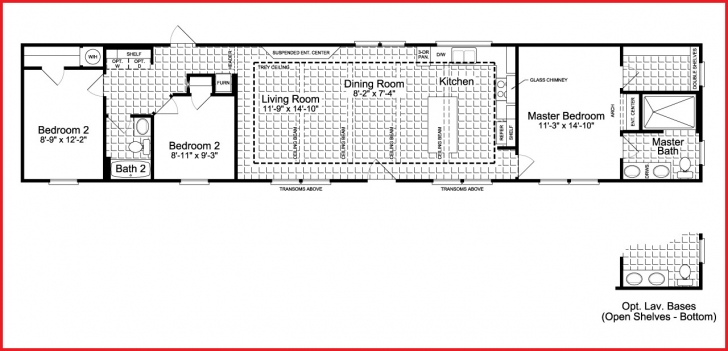 Exquisite Elegant Single Wide Mobile Homes Floor Plans Photos Of Home Plans Single Wide Mobile Home Floor Plans And Pictures Pic