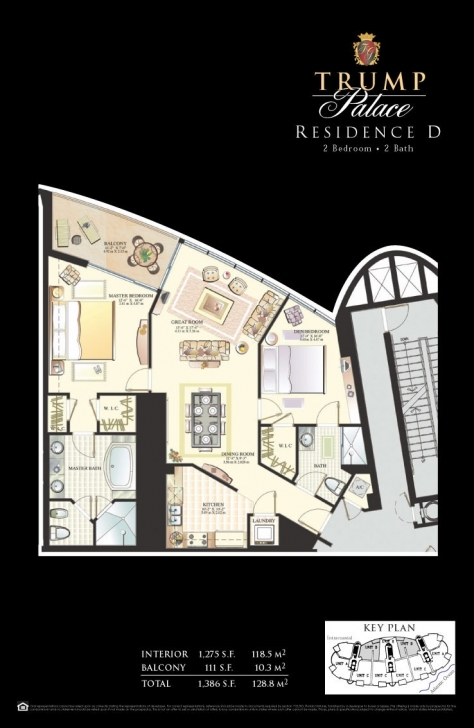 Exquisite Floor Plans - Trump Palace Condos Trump Palace Floor Plans Photo