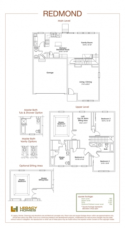 Exquisite Home Builders Floor Plans With Redmond Plan Legacy Homes Omaha And Omaha Home Builders Floor Plans Pic