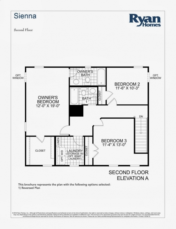 Exquisite Ryan Homes Floor Plans Florence, Ryan Homes Pisa Floor Plan House Rome Ryan Homes Floor Plan Photo