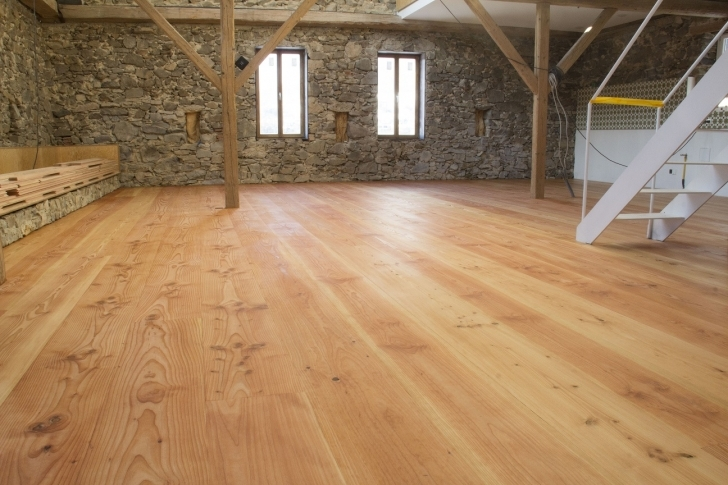 Exquisite Solid Douglas Fir Wide Plank Flooring By Hiram | Made In Germany Wide Plank Fir Flooring Picture
