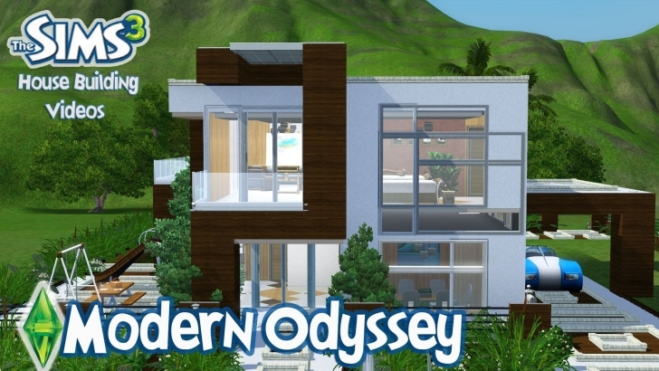 Exquisite The Sims 3 House Designs - Modern Odyssey - Youtube Sims 3 House Plans Image