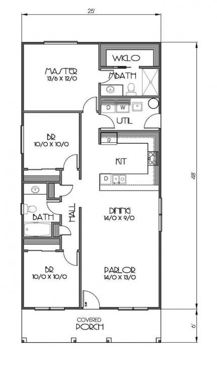 Fantastic 1200 Square Foot House Plans 1200 Square Feet 3