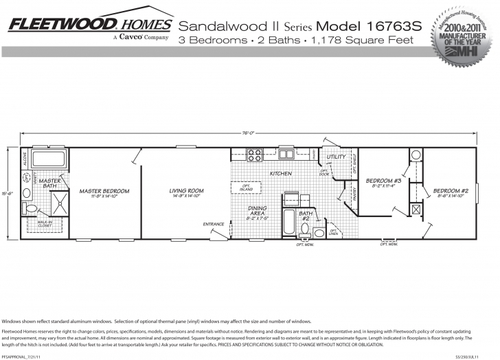 Fantastic 16×80 Mobile Home Floor Plans Inspirational 1999 Fleetwood Mobile 16x80 Mobile Home Floor Plans Pic