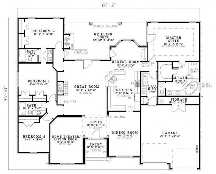 Fantastic 2500 Sq Ft Ranch House Plans Best Of Floor Plans 3000 Square Feet 2500 Sq Ft House Plans Photo