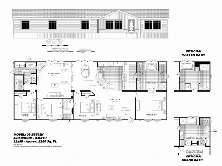 Fantastic 3 Bedroom Single Wide Mobile Home Floor Plans Fresh 40 Elegant 3 Bedroom Single Wide Mobile Home Floor Plans Image