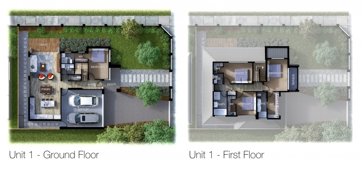 Fantastic 3D Floor Plan Rendering | Cleanpix Rendered Floor Plan Image