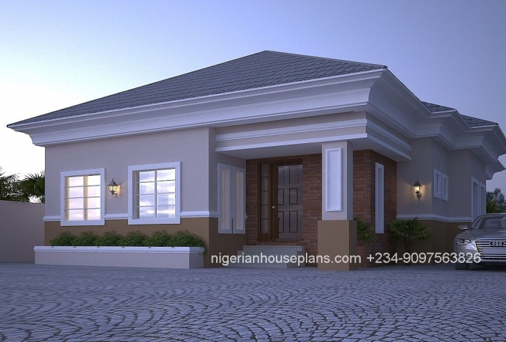 Fantastic 4 Bedroom Bungalow (Ref: 4012 In 2018 | Designing | Pinterest Nigerian House Plans Picture