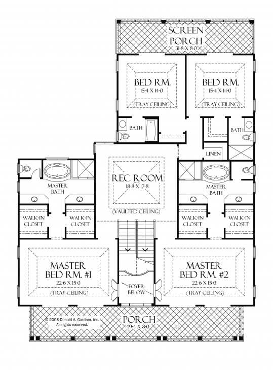 Fantastic Amazing House Plans With 2 Master Suites Luxury House Plans With 2 2 Bedroom House Plans With 2 Master Suites Image