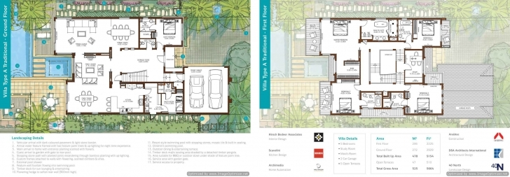 Fantastic Floor Plans - Sanctuary Falls, Jumeirah Golf Estates Villas For Sale Villa Floor Plans Pic