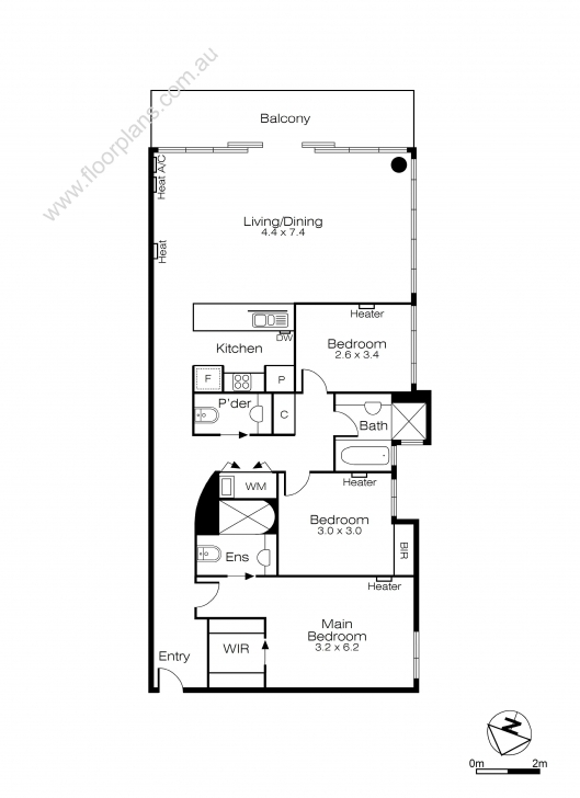 Fantastic Floorplan Dimensions :: Floor Plan And Site Plan Samples Floor Plans.Com Image