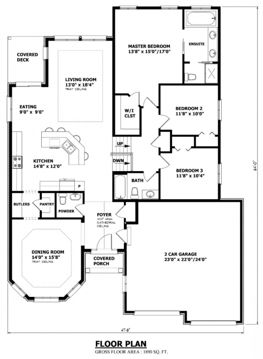 Fantastic House Plans Canada - Stock Custom Cottage Floor Plans Ontario Photo