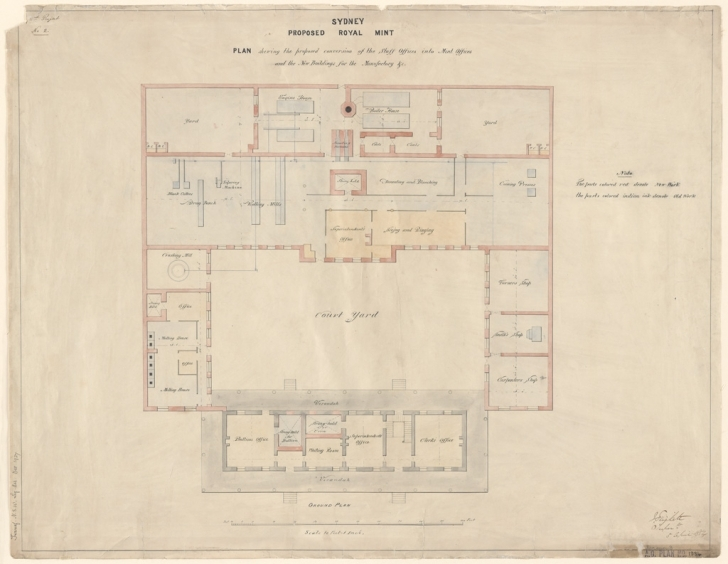 Fantastic Plans Of Public Buildings | Nsw State Archives Mint Floor Plans Picture