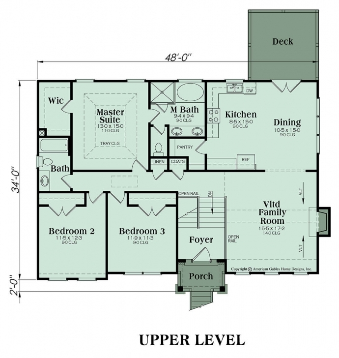Fantastic Split Foyer Plan: 1678 Square Feet, 3 Bedrooms, 2 Bathrooms, Alexis Alexis Floor Plan Photo