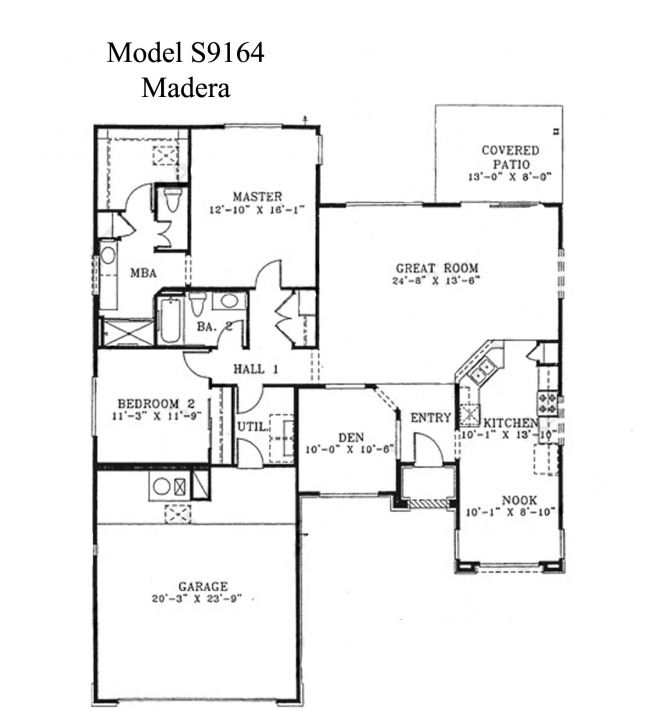 Fantastic Sun City Grand Madera Floor Plan, Del Webb Sun City Grand Floor Plan Del Webb Floor Plans Image