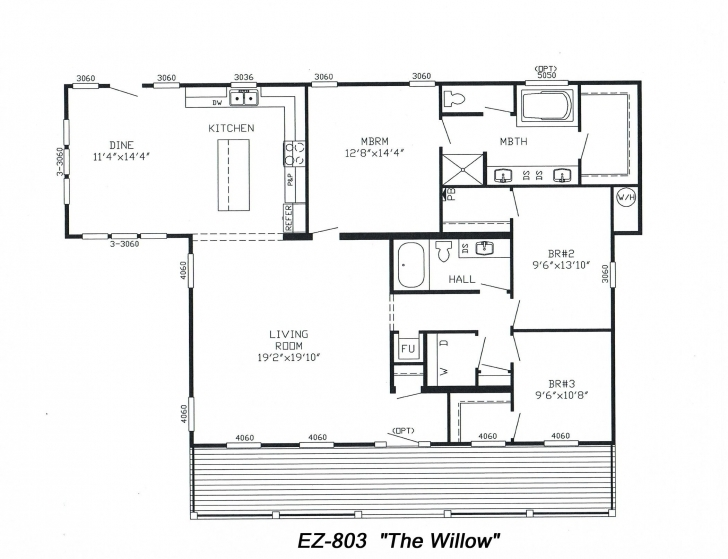 Fantastic Triple Wide Floorplans | House Plans | Pinterest | House Triple Wide Floor Plans Image