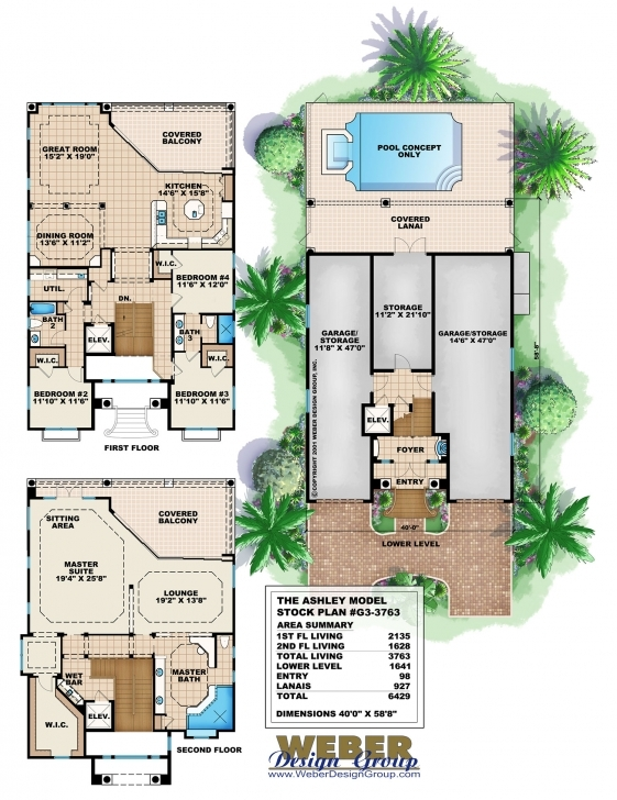 Fascinating 3 Story House Plan 3 Story House Plans Image