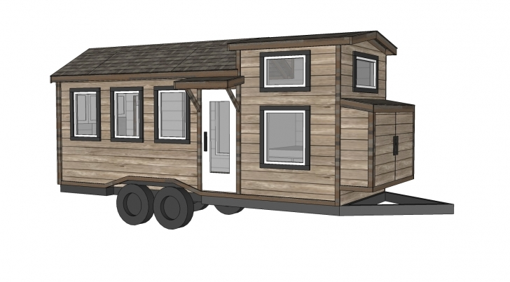 Fascinating Ana White | Free Tiny House Plans - Quartz Model With Bathroom - Diy Tiny House Plans Free Photo