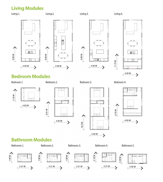Fascinating Award-Winning Modular Homes & Designs | Ecoliv Sustainable Buildings Prefab Home Plans Picture